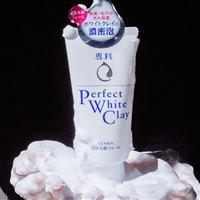 资生堂 洗颜专科Perfect White Clay白泥保湿洁面乳120g