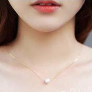 Dogeared朵吉兒 女士纯银镀金珍珠项链