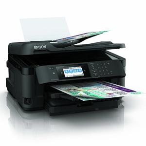 EPSON爱普生 WF-7710DWF 多功能彩色喷墨打印机