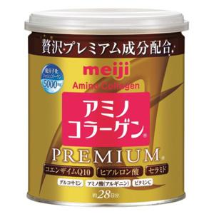 2018版 Meiji明治 金罐骨胶原蛋白粉 透明质酸+Q10 200g