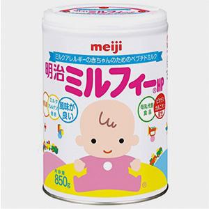 新版 Meiji明治 全阶段低敏感 HP水解蛋白奶粉 850g