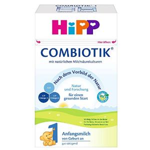 HiPP喜宝 Combiotik 婴儿奶粉 1段 600g*4盒装