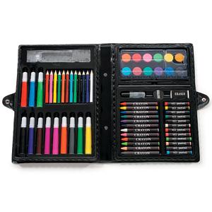 凑单品!Darice 便携式美术绘画工具盒68件套
