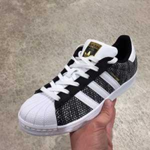 Adidas阿迪达斯 Superstar 3D 大童贝壳头