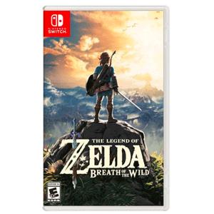 神价! 《The Legend of Zelda: Breath of the Wild(塞尔达:荒野之息)》Switch实体游戏