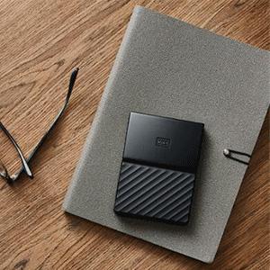 WD西部数据 My Passport 便携式移动硬盘 2TB
