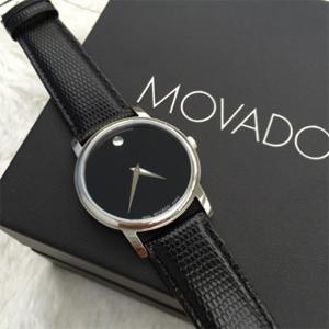 Movado摩凡陀Museum系列2100004/2100002情侣对表