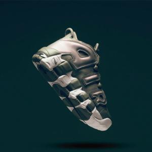 Nike Air More Uptempo大童款篮球鞋皮蓬大AIR