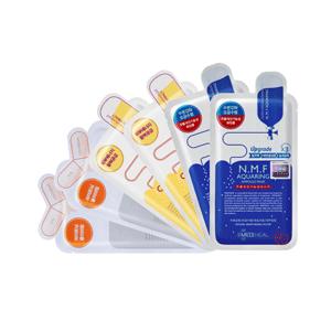 Mediheal美迪惠尔 面膜套装(水润保湿面膜x2片+胶原面膜x2片+维生素面膜x2片)