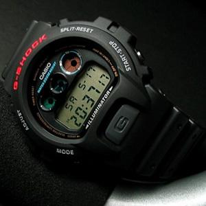 Casio卡西欧 DW6900-1V 太阳能手表