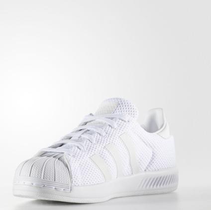 新低!Adidas阿迪达斯Superstar Bounce大童运动鞋