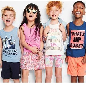 OshKosh BGosh新品童装低至4折+满$40额外7.5折促销