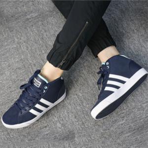 Adidas 阿迪达斯 Cloudfoam Daily QT Mid 女式中帮板鞋