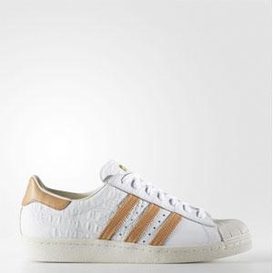 adidas 阿迪达斯 Superstar 80s 男性休闲板鞋