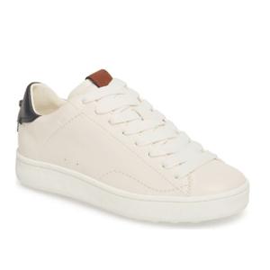 COACH女士小白鞋
