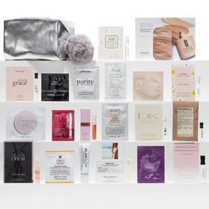 Nordstrom买美妆护肤满$88送24件片片礼包