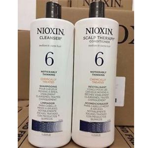 Nioxin俪康丝 6号深层柔润洗发水1L+护发素1L套装