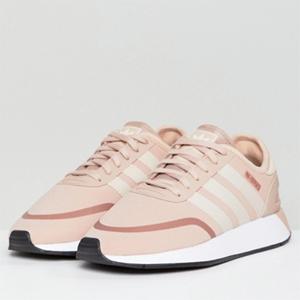 尺码全!Adidas Originals 阿迪达斯 N-5923 女士粉色运动鞋