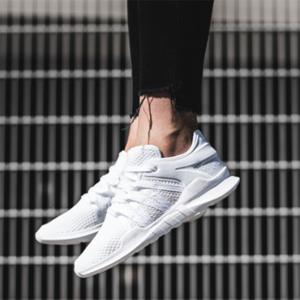 adidas 阿迪达斯 三叶草 EQT ADV 中性款运动鞋白色