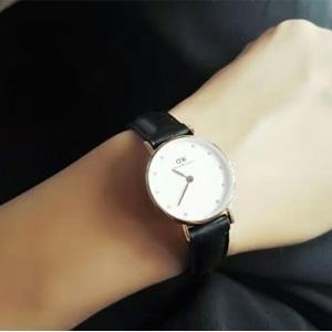 Daniel Wellington 0901DW 女士镶钻时装腕表