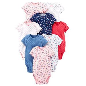 Carter's卡特 女婴短袖连体衣 8件套