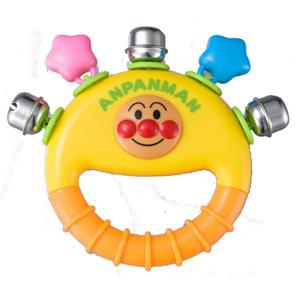面包超人手摇铃玩具 有趣发声