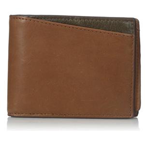 Fossil化石 男士真皮钱包 带零钱袋