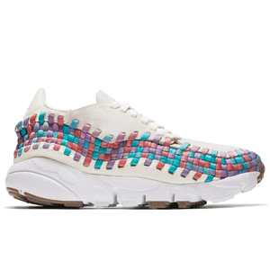 Nike Air Footscape Woven女士彩虹款运动鞋