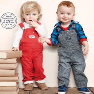 OshKosh BGosh美国官网 现有精选童装买一件,另外两件免费
