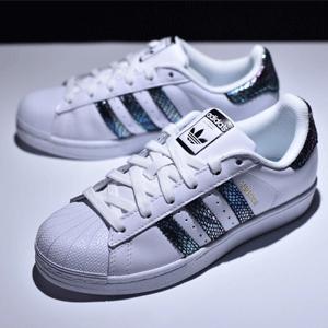 Adidas阿迪达斯Superstar 大童金标贝壳头