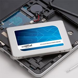 Crucial英睿达 BX300 固态硬盘 240GB MLC颗粒