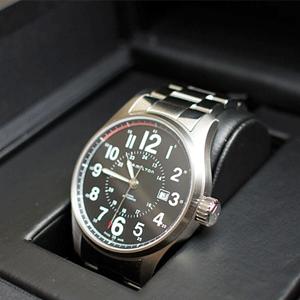 Hamilton 汉密尔顿男H70615133 Khaki 卡其指挥官系列机械手表