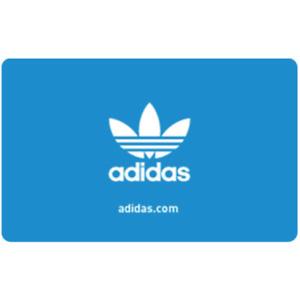 adidas美国官网面值$100的gift card礼品卡
