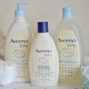Aveeno 婴儿天然燕麦保湿乳液/洗发沐浴露 532ml