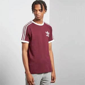 adidas Originals 阿迪达斯 adicolor 三条杠 男士运动T恤