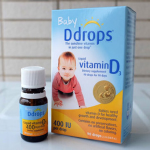 Ddrops 婴儿维生素d3滴剂 2瓶装*2件