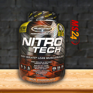 1件0税免邮!Muscletech肌肉科技黄金乳清蛋白粉 牛奶巧克力味 1.81kg