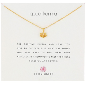 Dogeared Good Karma美好因缘系列 女士项链