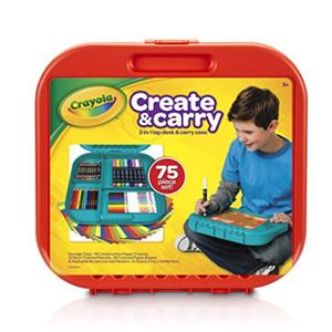Crayola Create ' N 75件装便携绘画手提箱