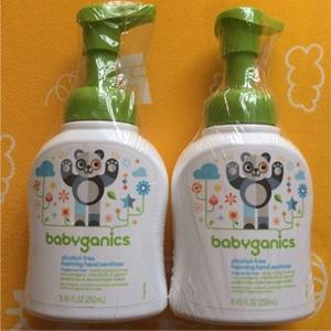 BabyGanics甘尼克宝贝 泡沫洗手液 无香型 250ml