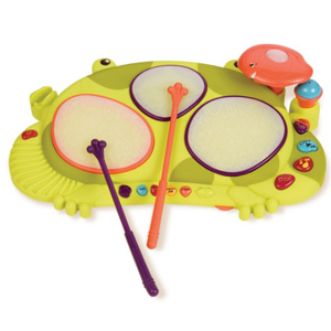 B.toys比乐 饶舌蛙电子鼓