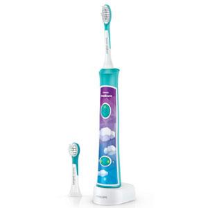Philips飞利浦 HX6322/04 蓝牙版声波震动儿童牙刷(含两个刷头)