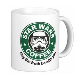 STARBUCKS星巴克 X 星战 咖啡马克杯 11盎司