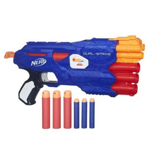 镇店之宝!Hasbro孩之宝 NERF 热火 B4620 双重发射器