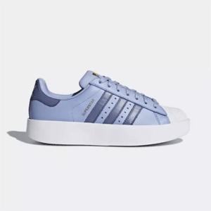 adidas阿迪达斯 superstar Bold Platform女士厚底鞋