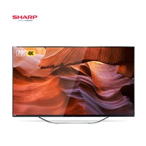 SHARP夏普 LCD-70DS8008A 70英寸 4K 液晶电视