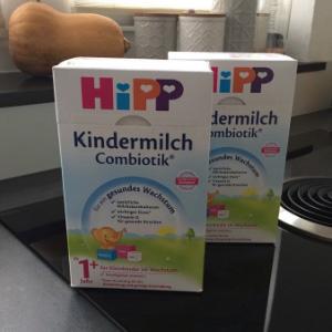 补货!HiPP 喜宝 有机益生菌婴幼儿奶粉 1+段/2+段 600g*4盒装