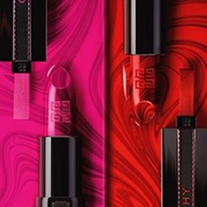 Givenchy纪梵希 Rouge Interdit限量水墨口红25、27色