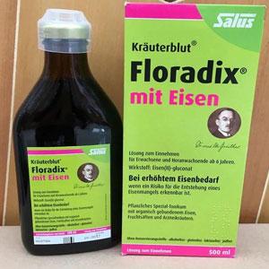 Salus Floradix铁元补铁补血营养液 500ml*3瓶