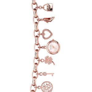 Anne Klein安妮.克莱恩 女士时尚小表盘水晶手链表 两色